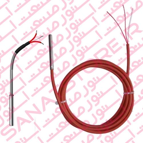 سنسور دما PT100 با سیم رابط ساده