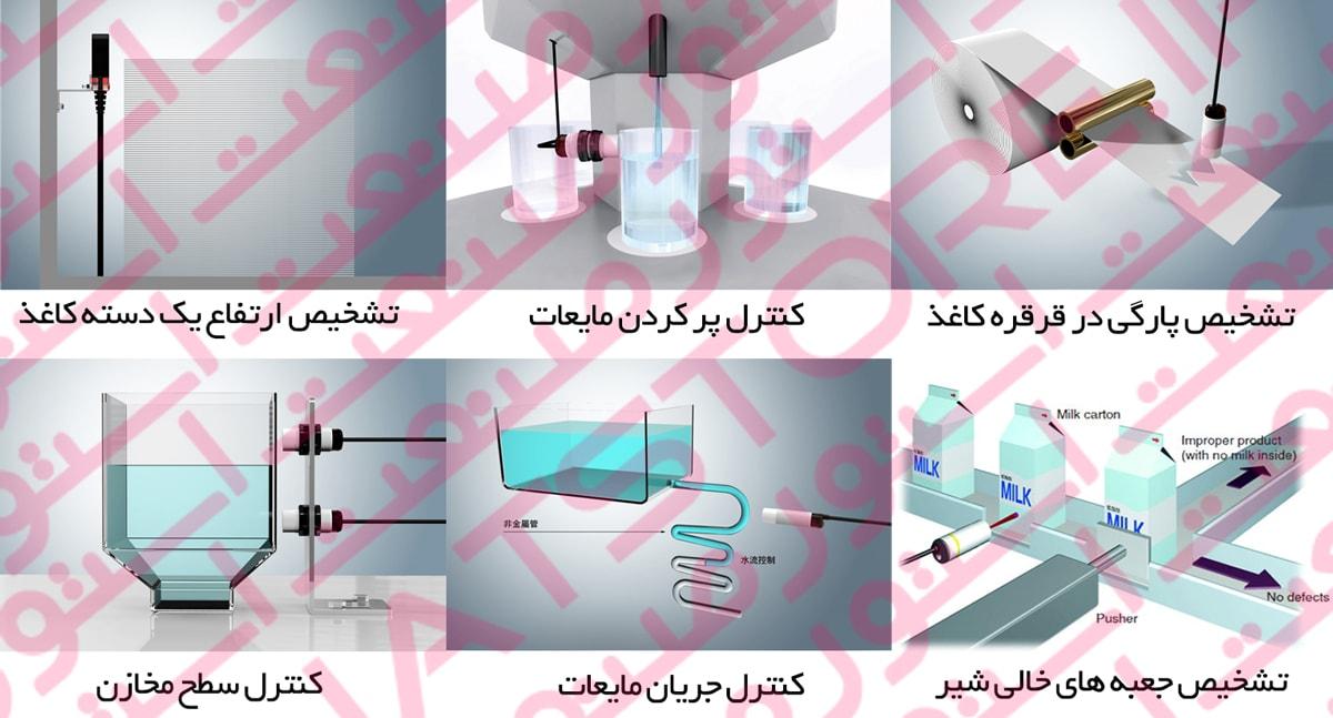 کاربرد و مصارف سنسور های خازنی