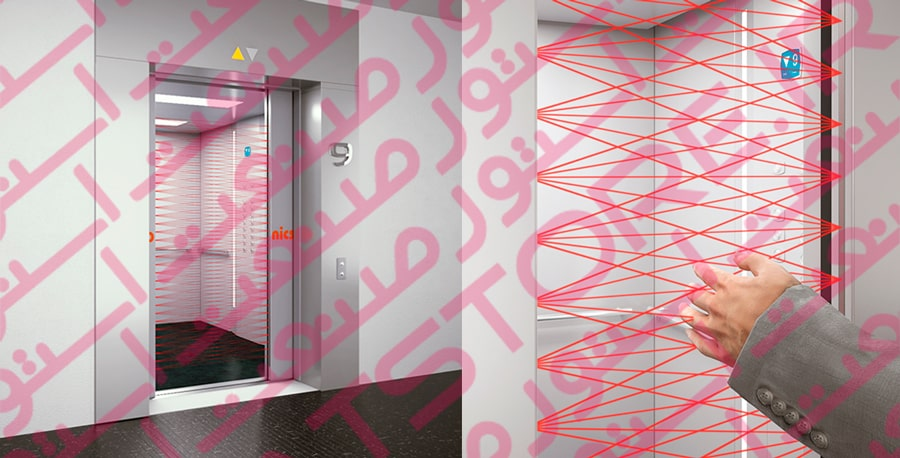 کاربرد پرده نوری در آسانسور ها و بالا بر ها
