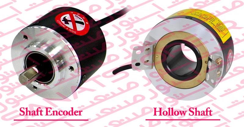 انواع روتاری اینکودر Rotary Encoder از نظر داشتن شفت کدامند ؟