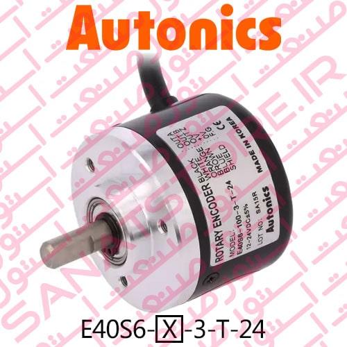 Autonics Rotary Encoder E40S6 Series