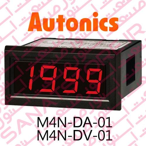 Autonics Panel Meter M4N-DA-01 , M4N-DV-01 Model