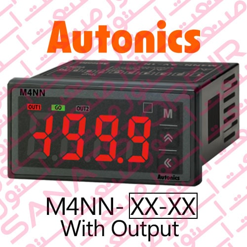 Autonics Panel Meter M4NN Series Display With Output