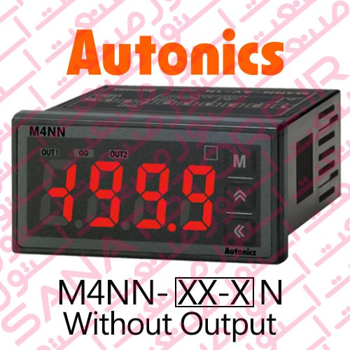 Autonics Panel Meter M4NN Series Only Display Without Output