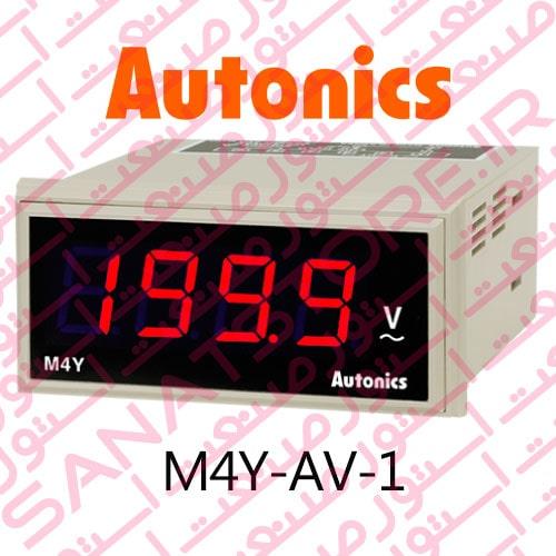 Autonics Panel Meter M4Y-AV-1 Model