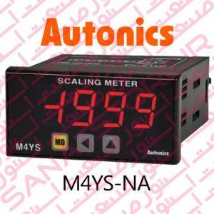Autonics Panel Meter M4YS-NA Model