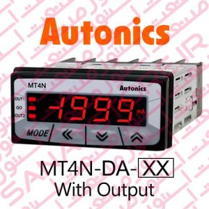Autonics Panel Meter MT4N-DA Model Display With Output