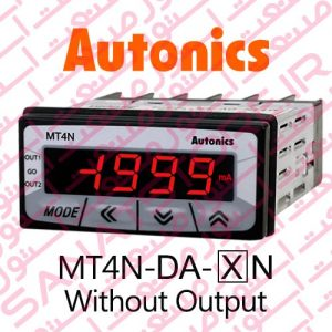 Autonics Panel Meter MT4N-DA Model Only Display Without Output