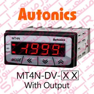 Autonics Panel Meter MT4N-DV Model Display With Output
