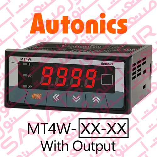 Autonics Panel Meter MT4W Series Display With Output
