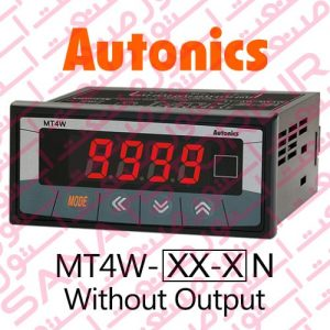 Autonics Panel Meter MT4W Series Only Display Without Output
